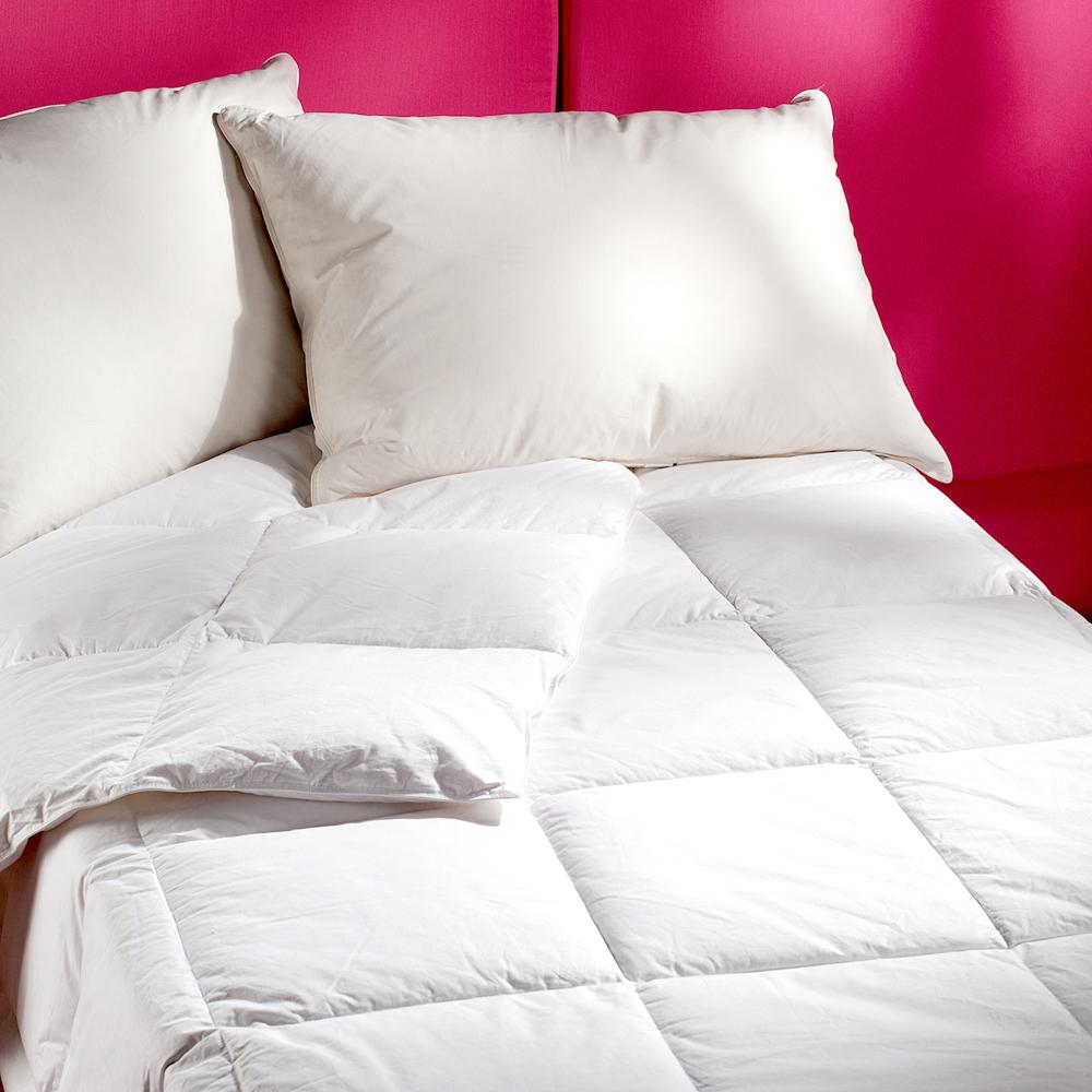 法式寢飾花季 純品良織-五星飯店專用款羽絨枕頭(30%羽絨)