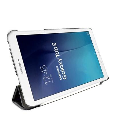 Samsung Galaxy Tab E  8 . 0  T 3777 三折式【皮套+保護貼組】