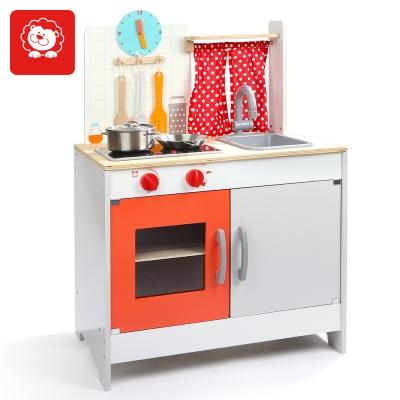 TOPBRIGHT 木製仿真豪華廚房遊戲組 (3Y+)