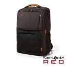 Samsonite RED EGERTON超大容量點綴色塊後背包L15.6吋(茶褐)