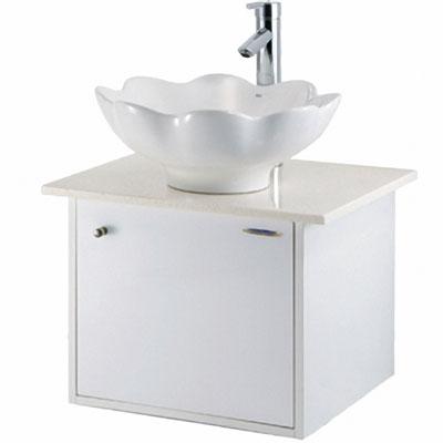 【HCG】LC101(AW)-567B臉盆浴櫃(含水龍頭)