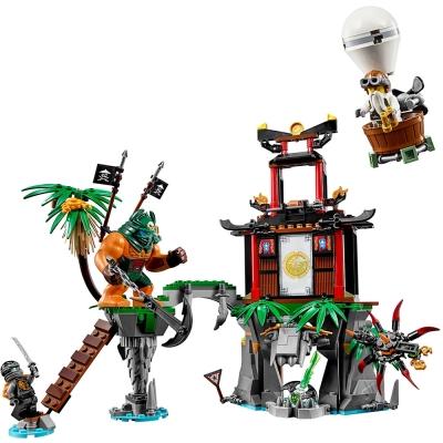 LEGO樂高 忍者系列 70604 大戰虎寡婦蜘蛛島(8Y+)