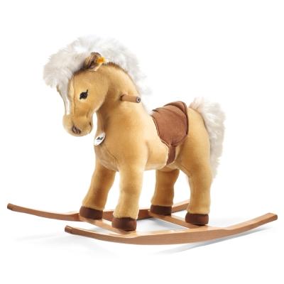STEIFF德國金耳釦泰迪熊- Franzi riding pony 馬遙遙 (遙遙系列)