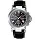 Gc-知性時尚三眼計時錶-黑-SWISS-MADE
