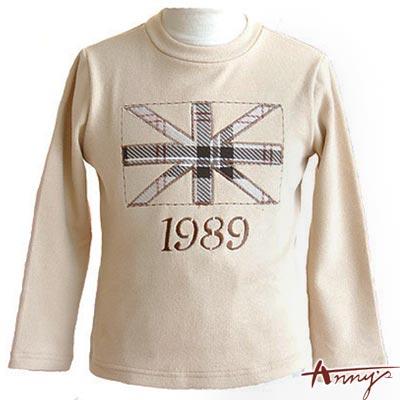 Anny經典格文貼布立領厚綿上衣*1482卡其