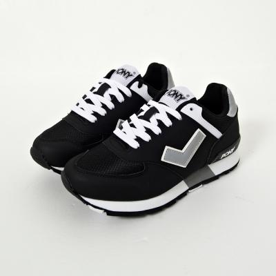 PONY-SOLA-T系列-復古慢跑鞋慢跑鞋-黑-女性