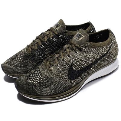 Nike休閒鞋Flyknit Racer編織女鞋