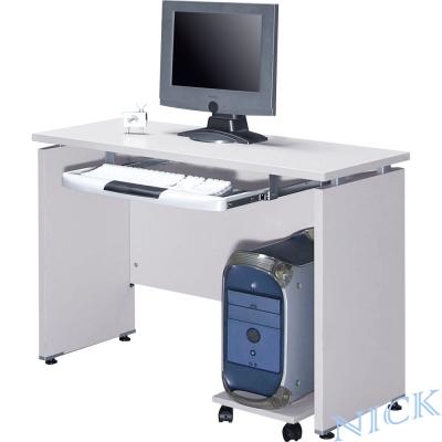 NICK-美耐敏四E板檯面灰色電腦書桌-100-45