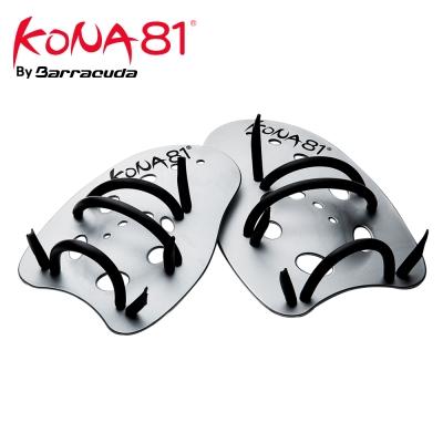 美國Barracuda KONA81划水訓練掌拍HAND PADDLE-銀灰色