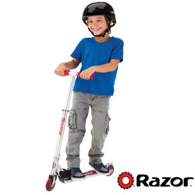 【 美國 Razor 】 A Scooter 兒童 滑板車 / 平衡車 - 紅色