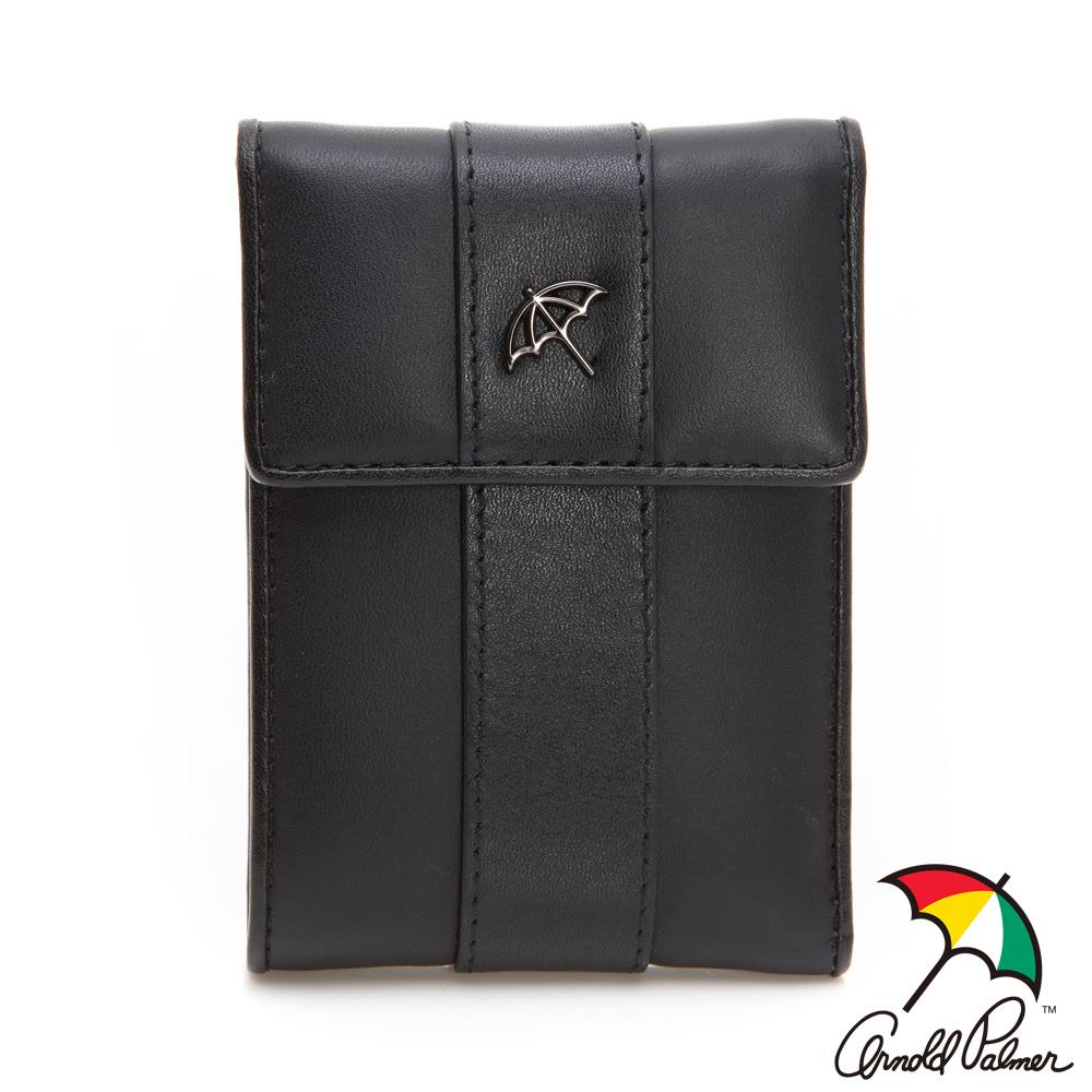 Arnold Palmer- 三折式短夾 Yuppie系列-黑色