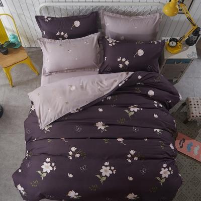 Alieen 個性印花 三件式涼被床包組 單人 七月
