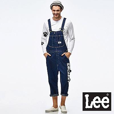 Lee  LEE X SMILEY聯名牛仔吊帶長褲- 男款
