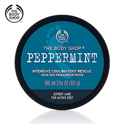 The Body Shop 薄荷沁涼足部修護霜100ML