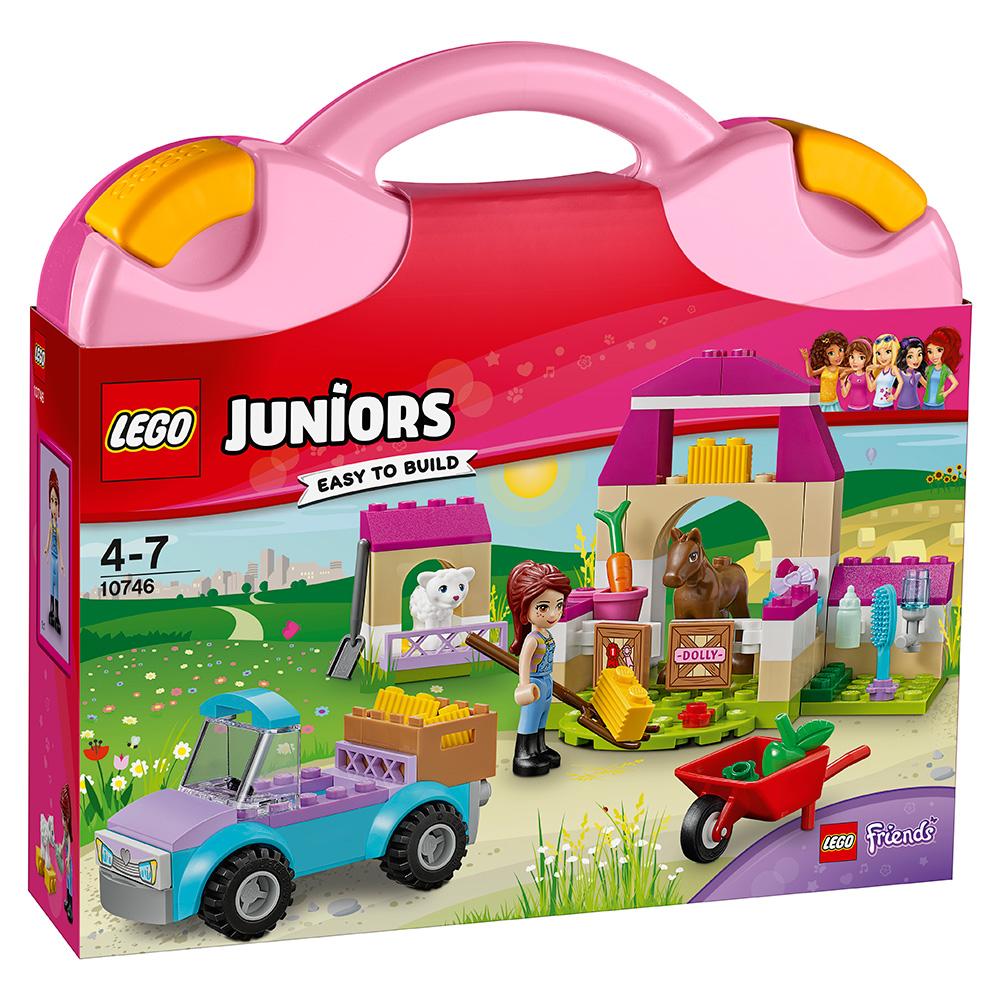 LEGO樂高Juniors系列10746農場手提箱4Y