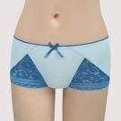 曼黛瑪璉-包覆提托V極線  低腰平口無痕內褲(魅惑藍)
