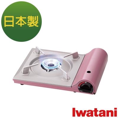 日本Iwatani 岩谷達人slim磁式超薄型高效能瓦斯爐-櫻花粉