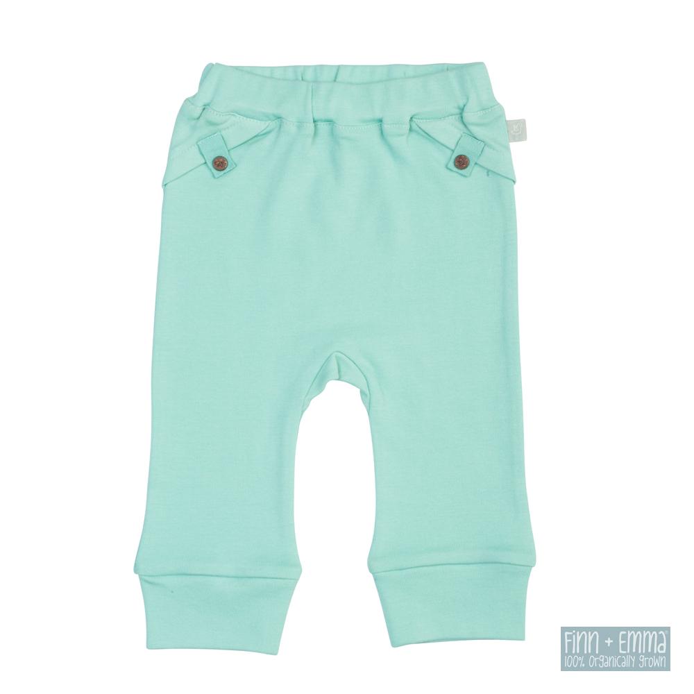 美國 FINN & EMMA 有機棉長褲 (維京藍)