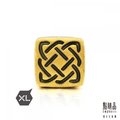 點睛品 Charme XL-Tattoo系列 守護 黃金串珠