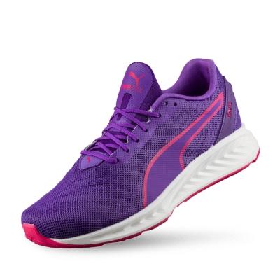 PUMA IGNITE3 PWRCOOL女性慢跑運動鞋-電光紫