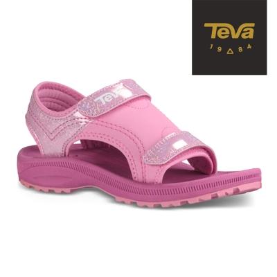 TEVA 美國 女中童 Psyclone 4 運動涼鞋(亮粉)