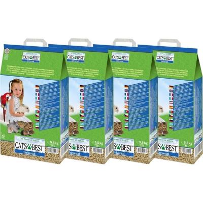 德國CATS BEST凱優 藍標環保木屑砂(粗顆粒) 10L x 4包