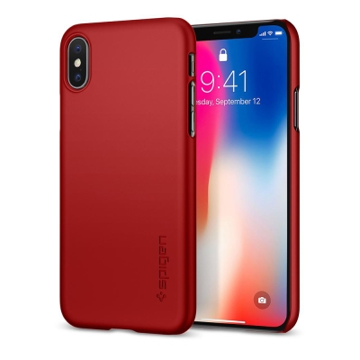 Spigen iPhone X Thin Fit-超薄防刮保護殼