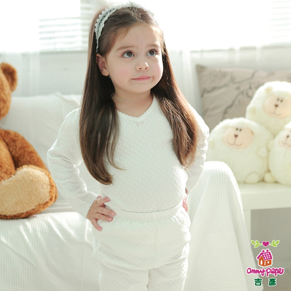 【Anny pepe】女童舒暖夾棉長袖款(S&M號可選)_舒暖棉系列
