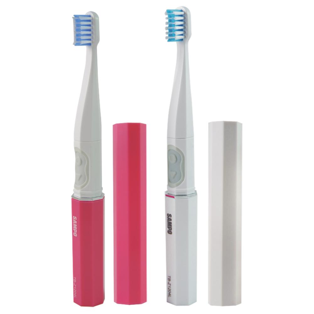聲寶兩段式音波電動牙刷(TB-Z1204L)共附刷頭3入(快速到貨)