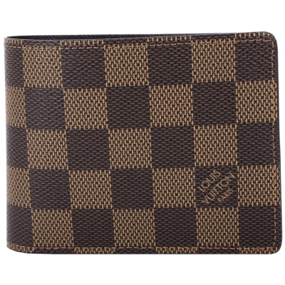 LV-N61208-SLENDER-棋盤格紋八卡對