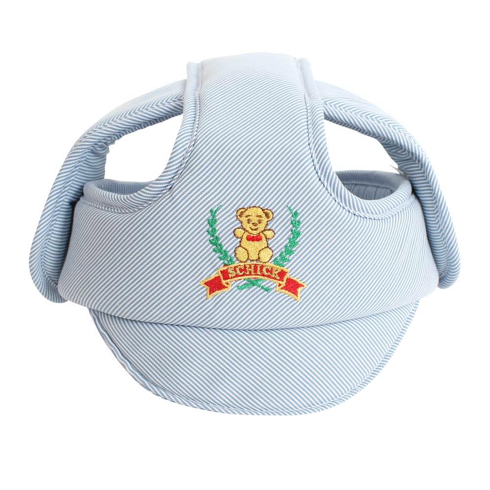 舒適 SCHICK 輕柔嬰幼兒安全防撞防護帽/學步帽(藍)