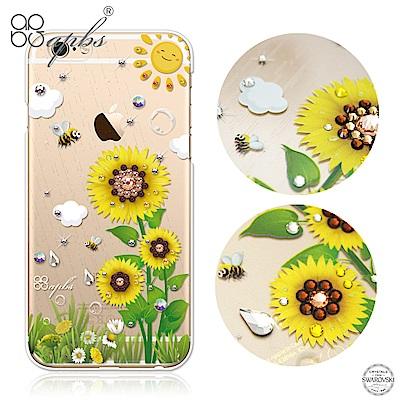 apbs iPhone6s/6 4.7吋 施華洛世奇彩鑽手機殼--元氣朝陽