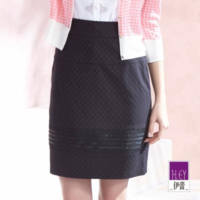 ILEY伊蕾-黑色二片裙-黑