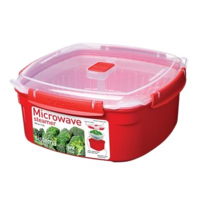 【Sistema】紐西蘭進口方型微波加熱保鮮盒3.2L