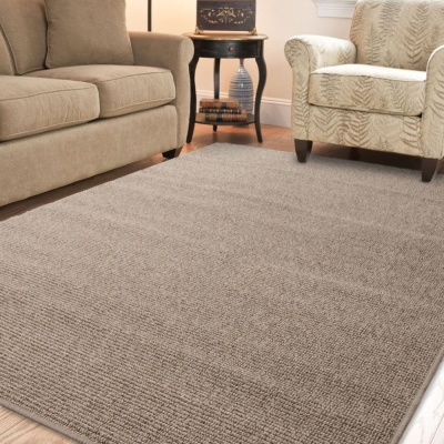 Ambience 比利時Fjord 素面地毯- 棕色  160 x 240 cm
