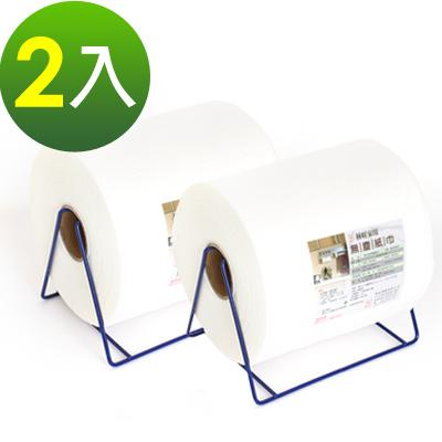 林旺家用乾濕兩用除塵紙抹布2入(含鐵架)