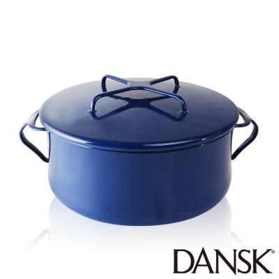 丹麥DANSK-琺瑯雙耳湯鍋18-5CM-星空藍