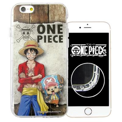 航海王夥伴系列 iPhone 6s Plus 5.5吋 空壓殼(喬巴&魯...