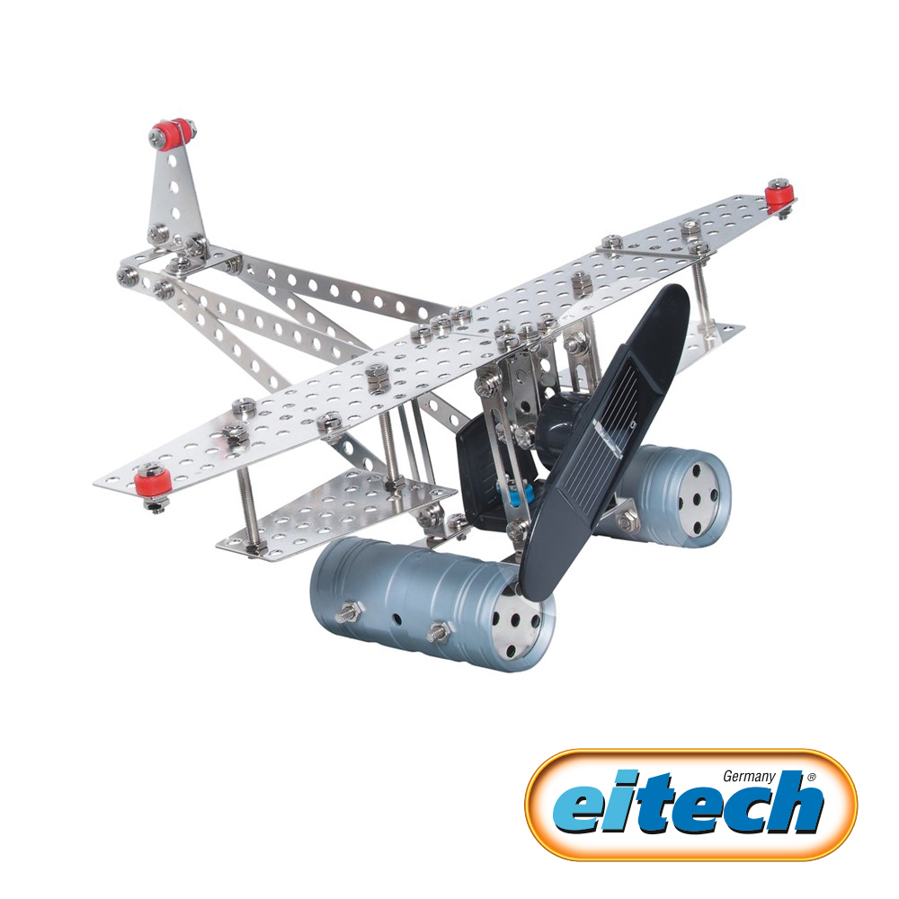 德國eitech益智鋼鐵玩具-太陽能動力飛船 C74
