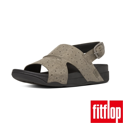 FitFlop TM-BANDO TM LEATHER BACK-STRAP-淺木色