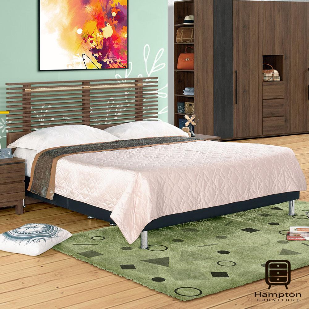 漢妮Hampton山謬系列5尺雙人床組-155x197.6x104.8cm @ Y!購物