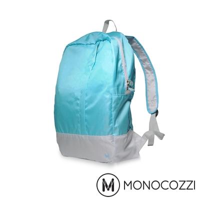MONOCOZZI Lush Foldable Backpack 魔術折疊背包 - 嬰兒藍