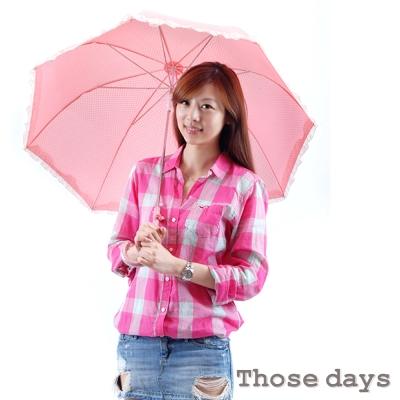 those-days-蘑菇美型水玉公主晴雨傘-1支入