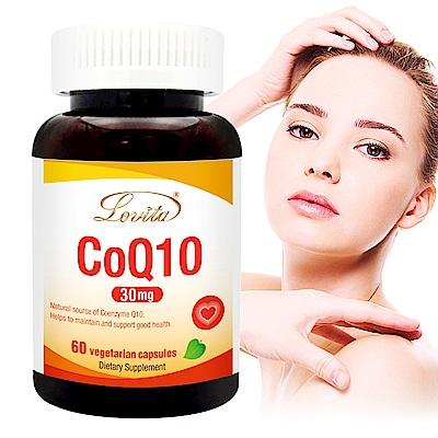 Lovita 愛維他 輔酵素Q10素食膠囊食品(60顆/瓶)