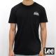 Lee 短袖T恤 前口袋設計 -男款-黑色