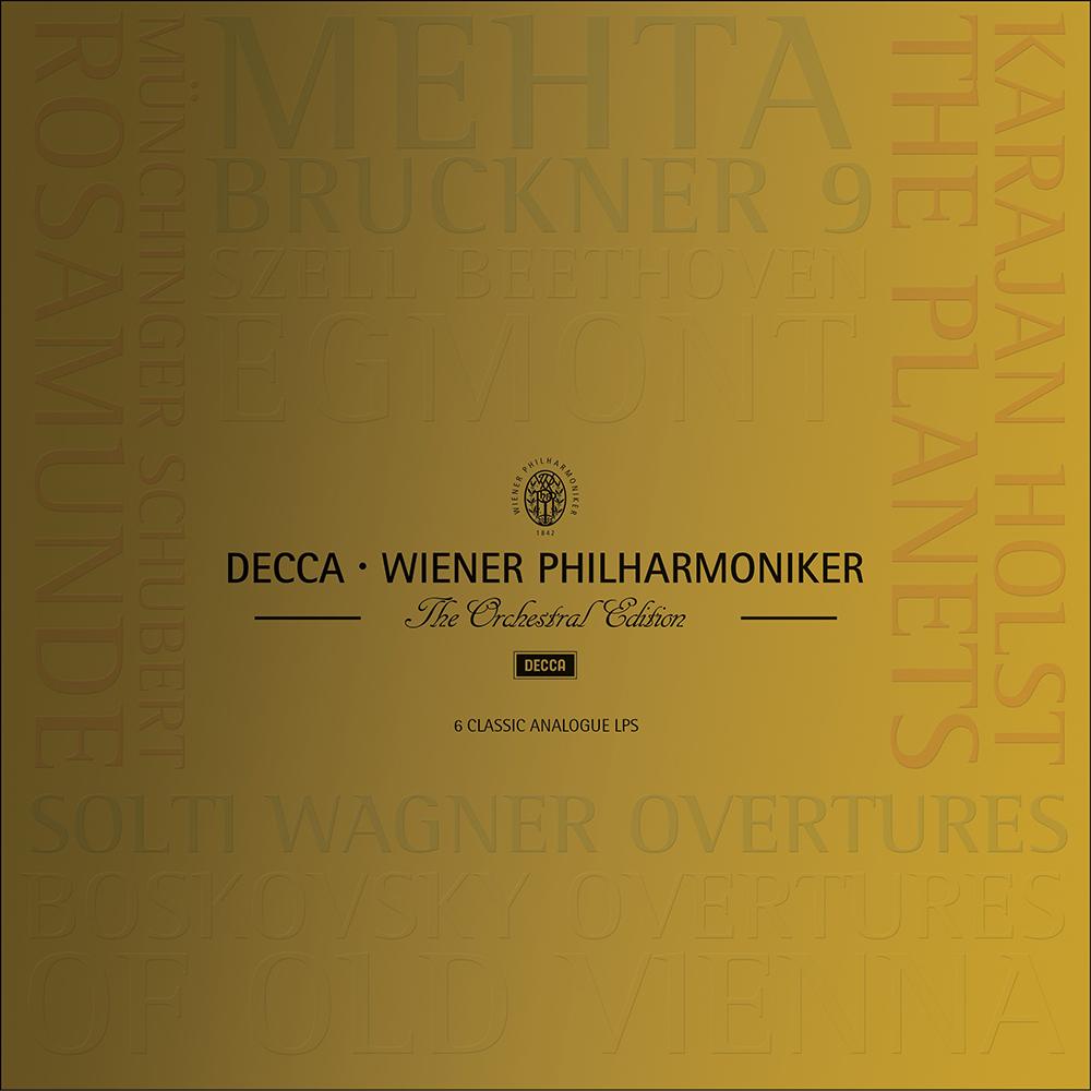 維也納愛樂管弦樂團傳奇錄音(6LP)