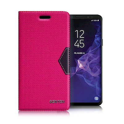 GENTEN for 三星 Samsung Galaxy S9+ 簡約守護磁力皮...