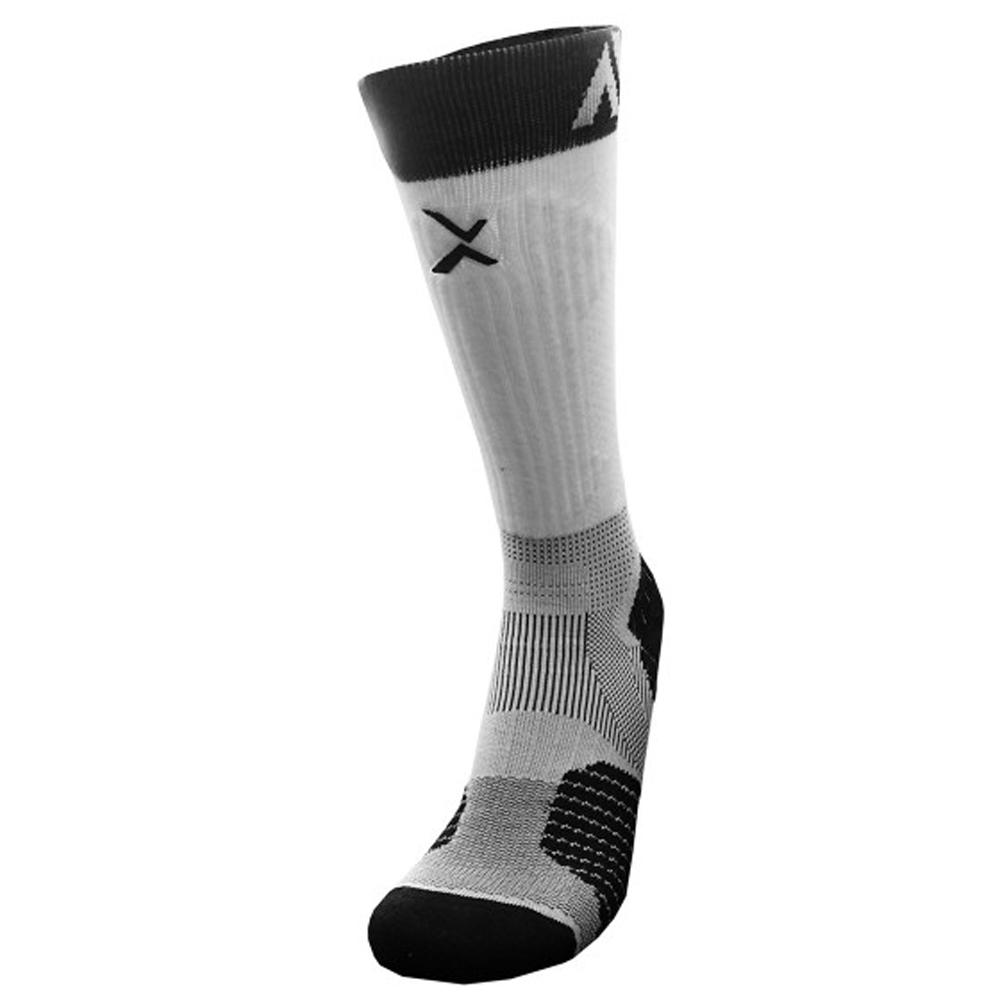 EGXtech P84I長筒機能專業籃球襪(白/黑)(1雙入)