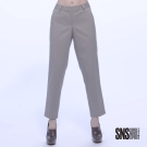 SNS 歐美簡約風素色九分西裝褲(4色)