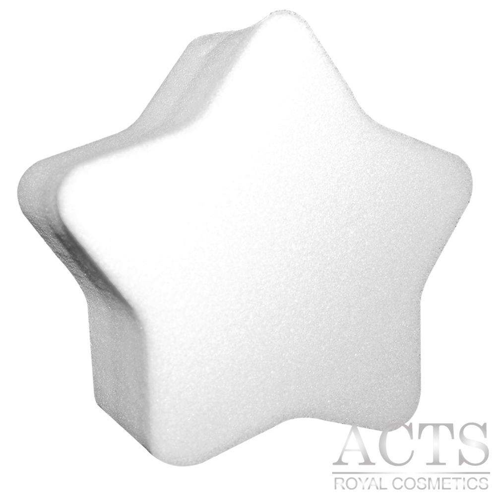ACTS 維詩彩妝 高密度Q海綿 厚切星星 2入
